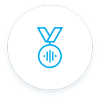 medal sound icon